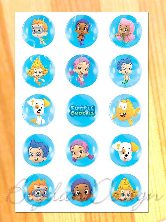 Instant download Bubble Guppies digital image by BogdanDesign