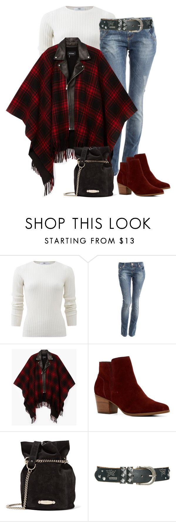 """""""Biker Poncho"""" by sheryl-lee ❤ liked on Polyvore featuring Allude, Crafted, ALDO, Lanvin and Pepe Jeans London"""