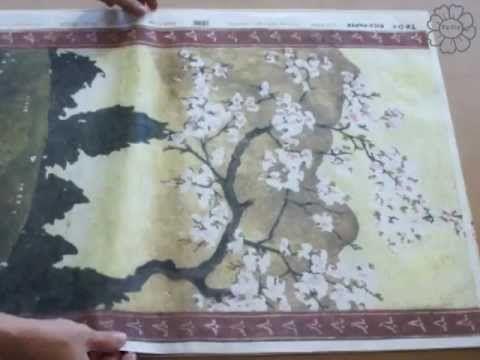 ▶ TUTORIAL TO-DO / Come dipingere su tela. Ispirazione Orientale - YouTube