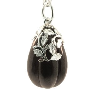 Sterling Silver & Smokey Quartz Pendant, NZD$345.00. Handmade at Cameron Jewellery by Peter Cameron