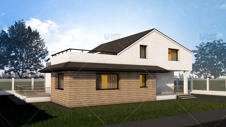 Proiect casa parter + mansarda (190 mp) - Dunia. Mai multe detalii gasiti aici: https://www.uberhause.ro/proiect-casa-parter-mansarda-190-metri-patrati-dunia
