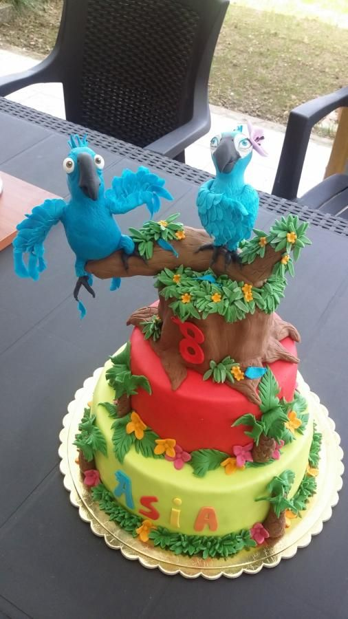Southern Blue Celebrations Rio Rio 2 Cake Ideas