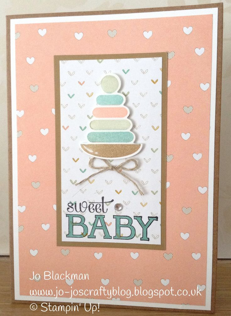 545 best Stampin up baby images on Pinterest   Baby cards, Baby ...