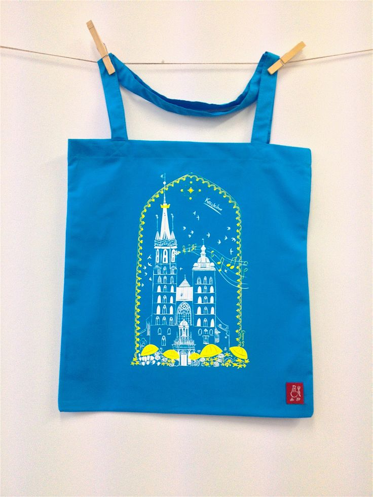 #Krakow #screenprint #illustration
