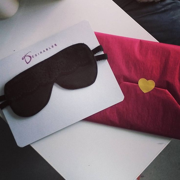 HOW #cute is our packaging for our lace blindfold?    Visit our website to get #awesome ideas for #valentinesdaygift !