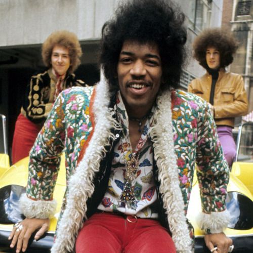 Tonight 3-31 in 1967: Jimi Hendrix plays his first British concert, on a bill with Cat Stevens, The Walker Brothers, and Englebert Humperdinck at the Rainbow Theatre in Finsbury Park, England. On a whim, Hendrix sets fire to his guitar with lighter fluid for the first time, but burns his hands so badly he is admitted to a nearby hospital.  #jimihendrix