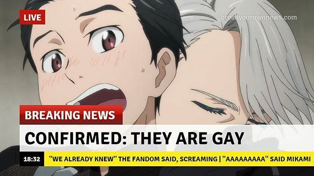WE KNOWWWWWW . . #yurionice #victuri