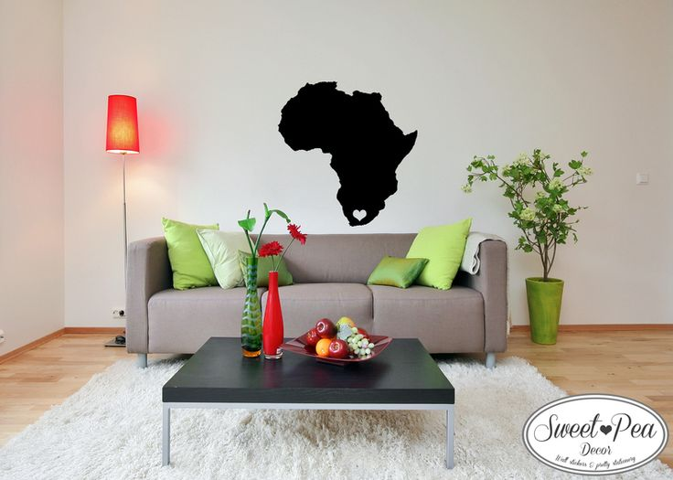 Africa with a Heart (SWP009) by Sweet Pea Decor