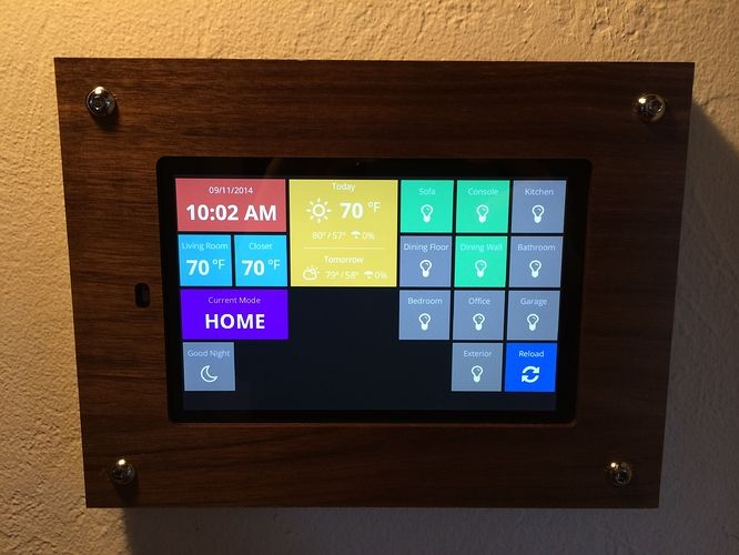 Home Automation Dashboard Projects Stories Smartthings Community