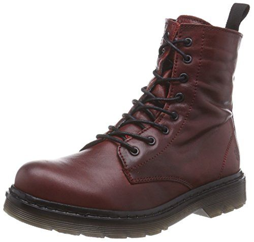 Apple of Eden Sun, Damen Combat Boots, Rot (Bordo), 39 EU (6 Damen UK) - http://on-line-kaufen.de/apple-of-eden/39-eu-apple-of-eden-sun-damen-combat-boots
