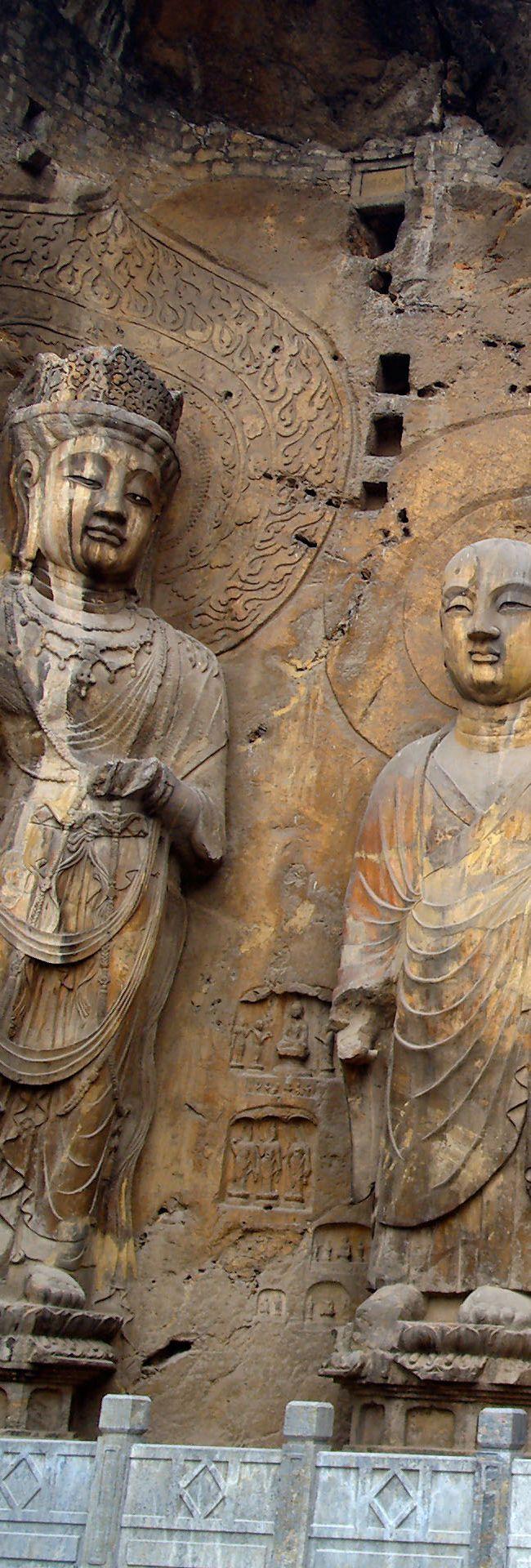 The Longmen Grottoes or Longmen Caves ~ UNESCO World Heritage Site ~ Luoyang Henan   China