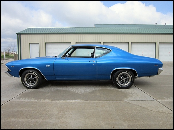 S62 1969 Chevrolet Chevelle SS  396/350 HP Photo 2