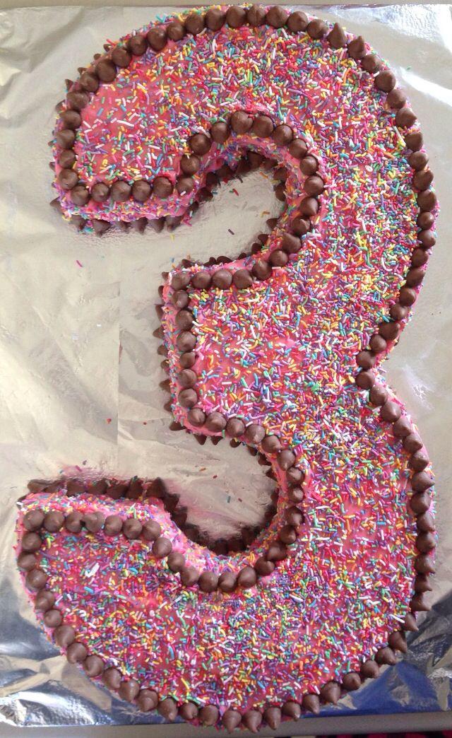 ... Number, 3Rd Birthday, 3 Birthday Cakes, Birthday Ideas, Birthday Party