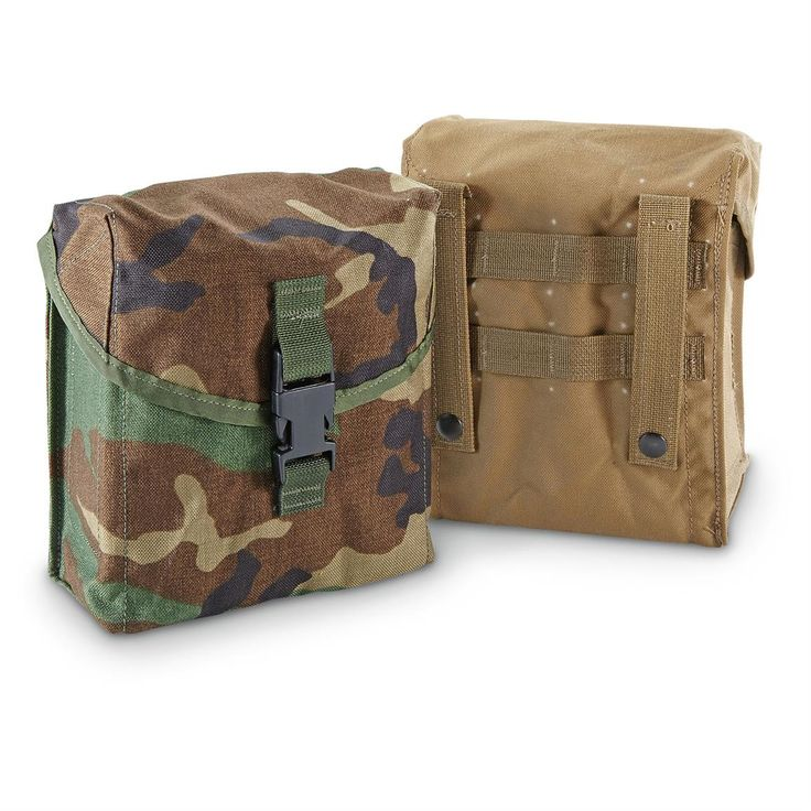New U.S. Military Surplus MOLLE SAW Pouch, 200 Round Capacity