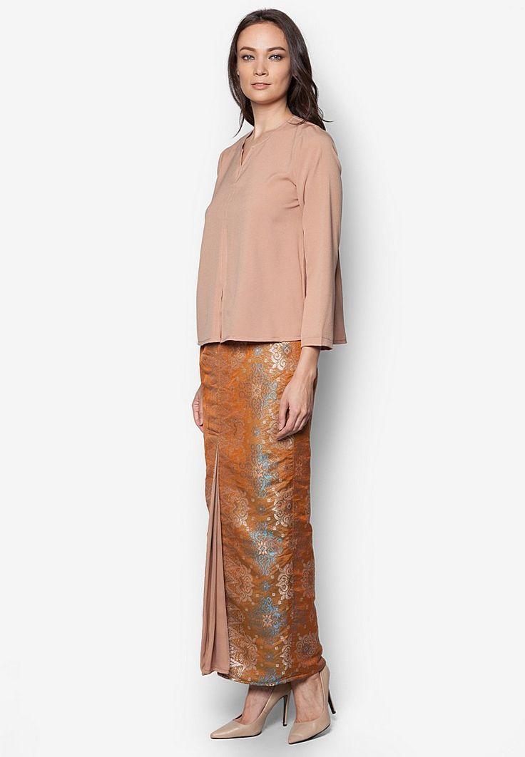 Seleksi Akma Baju Kurung Daisy Crepe Online | ZALORA Malaysia