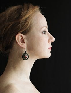 kolczyki. ceramika, koraliki / earrings. ceramic, beads // Karolina G