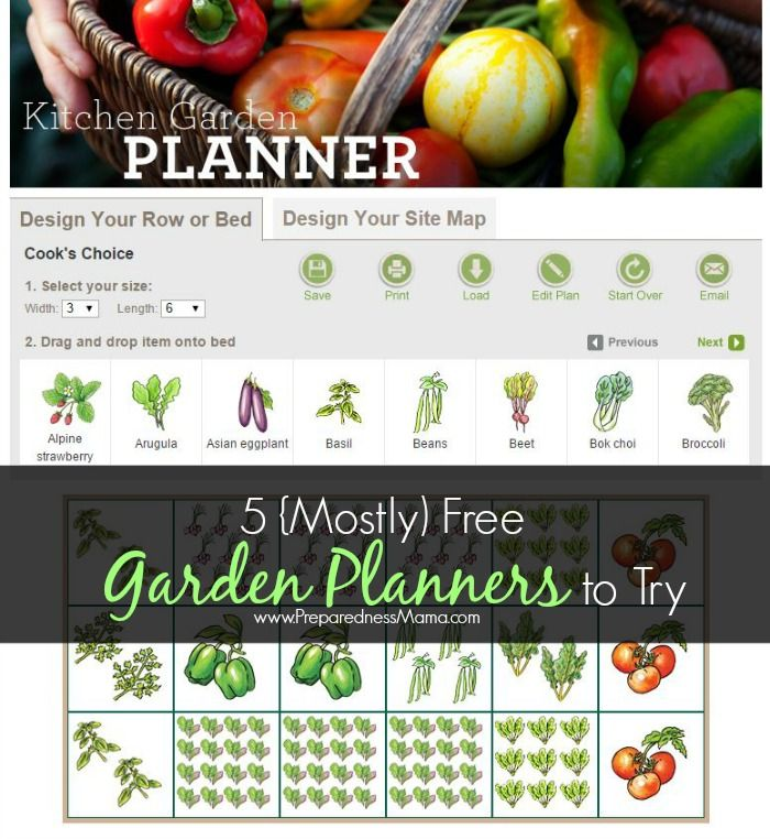 Epic  Mostly Free Online Vegetable Garden Planners