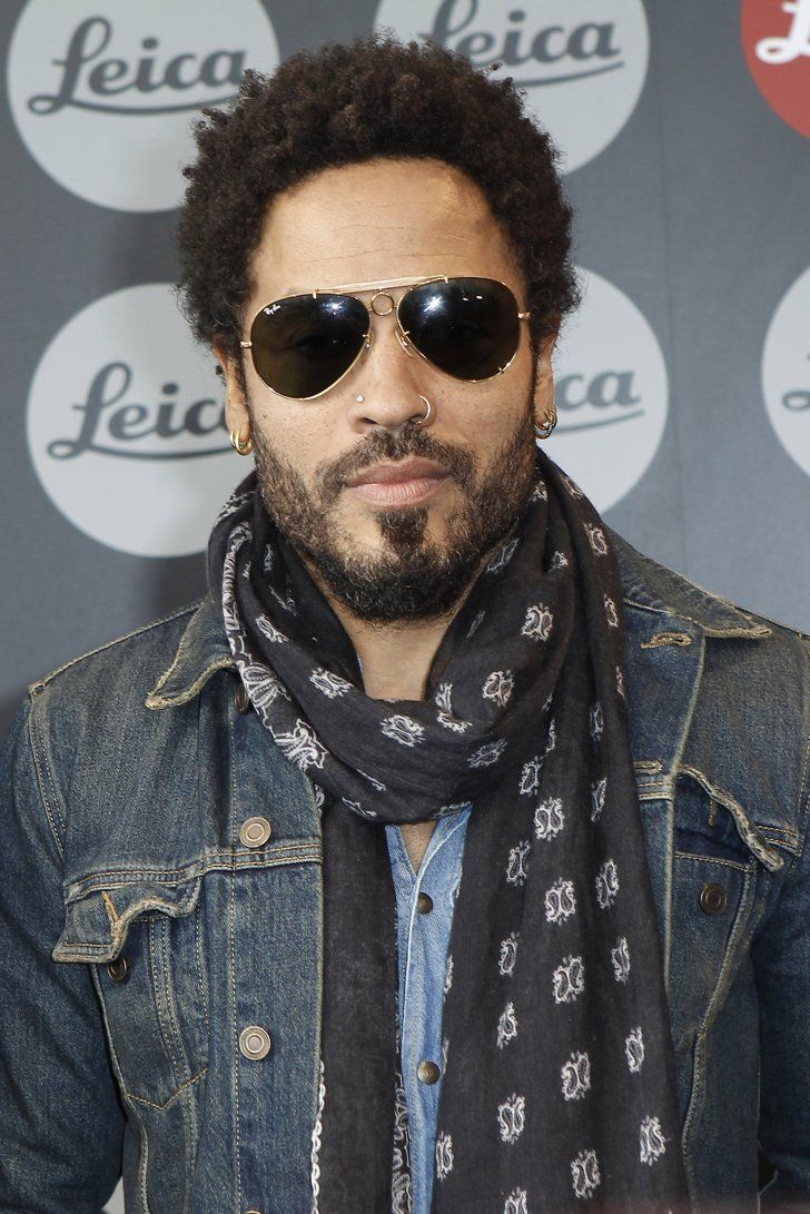 Pin for Later: 22 Celebrities You Didn't Know Were Only Children Lenny Kravitz