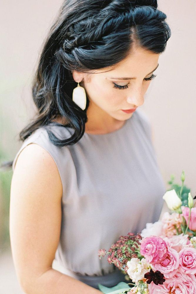 Chic And Easy Wedding Guest Hairstyles ❤ See more: http://www.weddingforward.com/wedding-guest-hairstyles/ #weddingforward #bride #bridal #wedding