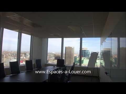 Bureau louer centre ville montreal espaces louer for Agence immobiliere montreal