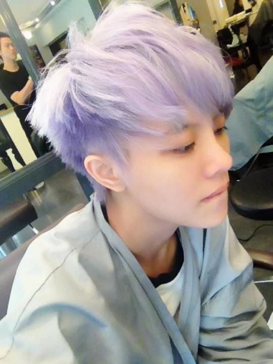 16 Best Pastel Boys Images On Pinterest Colourful Hair