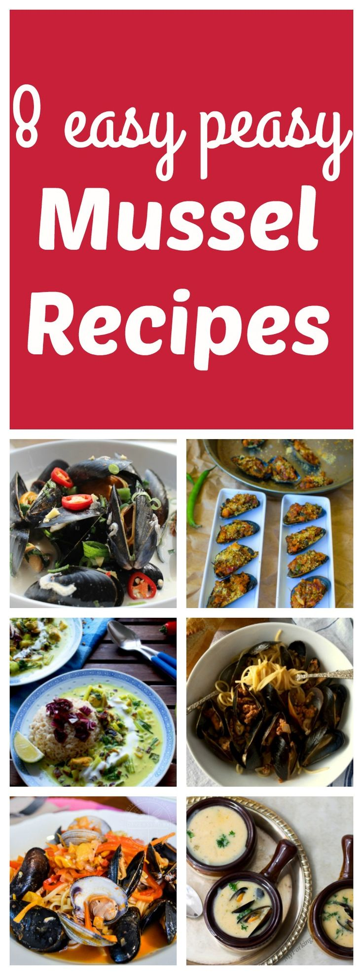8 Easy Mussel Recipes