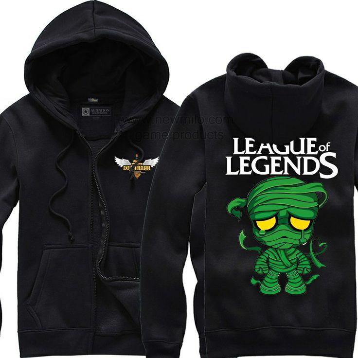 Fancy league of legends amumu hoodie fashion league of