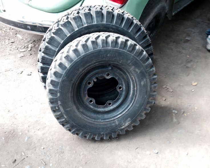 El H new wheels and rim Cambio de rines 14´ a 15´ y llantas Tornel ahora para rin 15´.