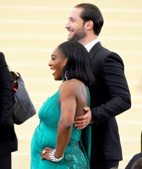 Serena Williams, Alexis Ohanian 'Waiting' to Learn Sex of Baby ...