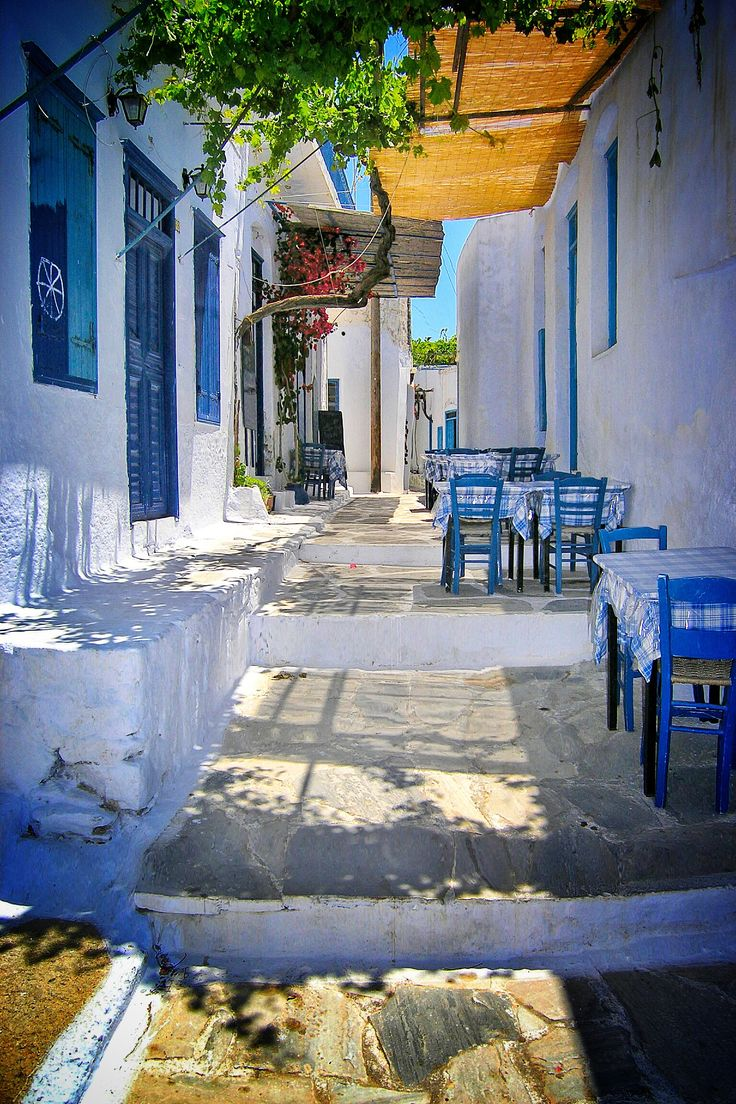 Street tavern - Amorgos, Greece