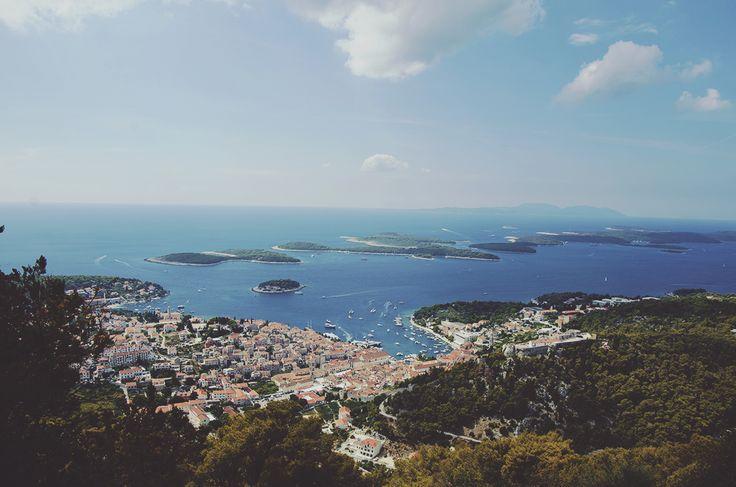 Hvar w Splitsko-Dalmatinska Županija