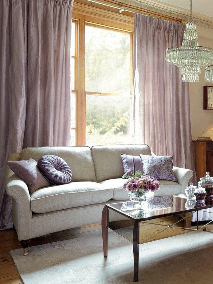 les rideaux occultants les plus belles variantes en photos salle de s jour pinterest. Black Bedroom Furniture Sets. Home Design Ideas