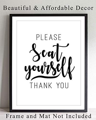 Bathroom Wall Art Print Typography - 8x10 Unframed Photo ...