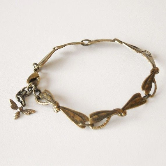 Free Shipping  Flying Together Bracelet in Brass by BeadsStory, $19.00