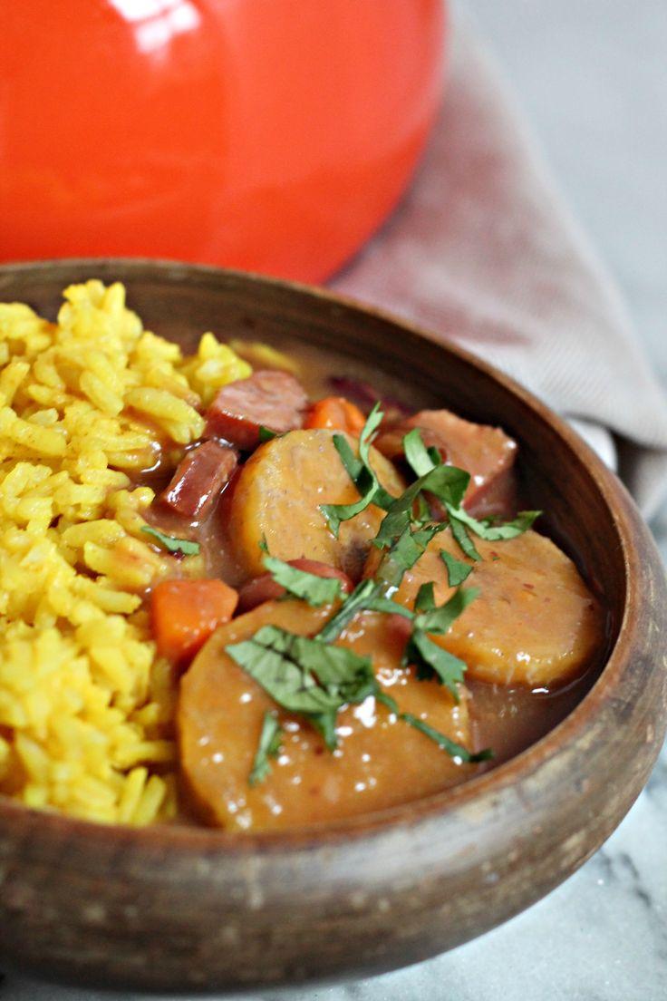 Red Bean & Root Vegetable Stew #ElFrijolazo | Recipe | Stew, The o ...
