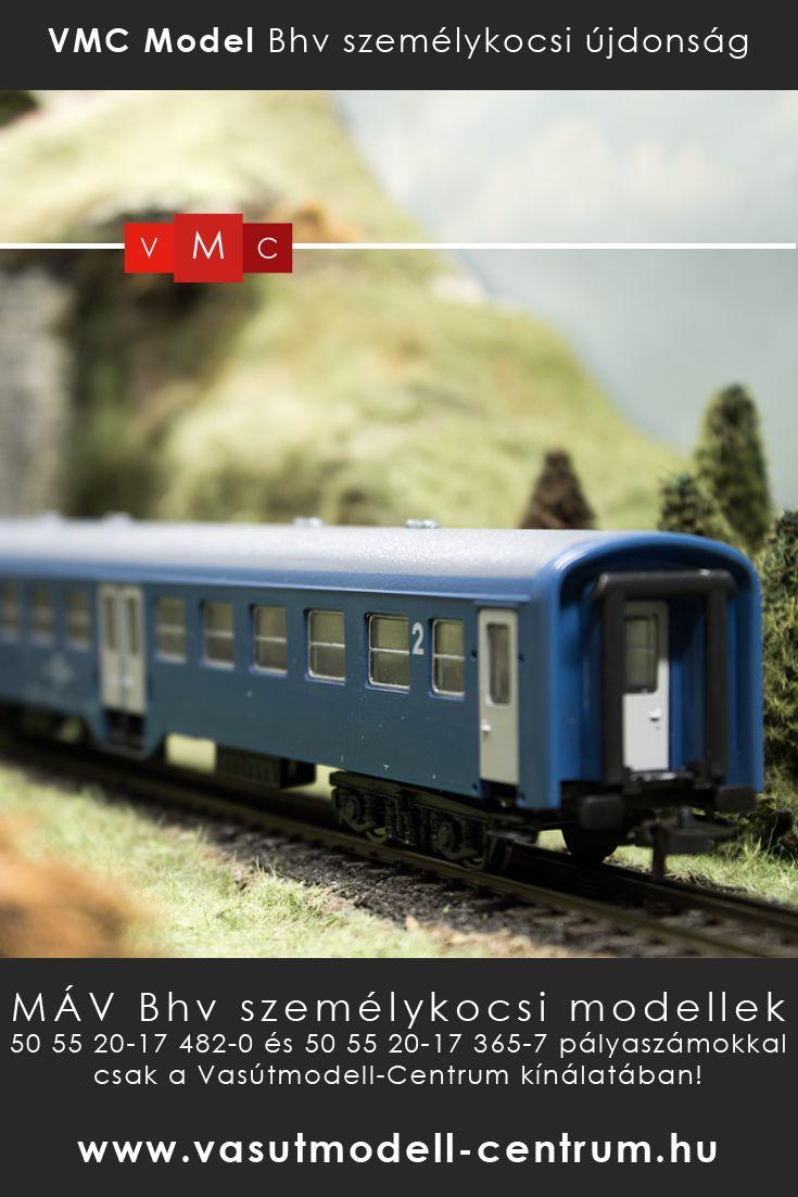 Új #Bhv #személykocsi #modell a #Vasútmodell Centrum webáruházában és szaküzletében. A #VMC Model hiánypótló H0 méretarányú modellje egy pályaszámmal kapható! http://www.vasutmodell-centrum.hu/vasutmodellek/szemelykocsik/vmc-7353-szemelykocsi-negytengelyes-bhv-mav-2-osztaly-p-101223-72-6.html?utm_source=pinterest&utm_medium=szemelykocsi-tabla&utm_term=bhv-vmc-kocsik&utm_campaign=pinterest-to-webshop