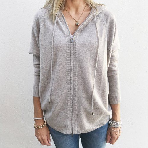 Repeat cashmere hoodie