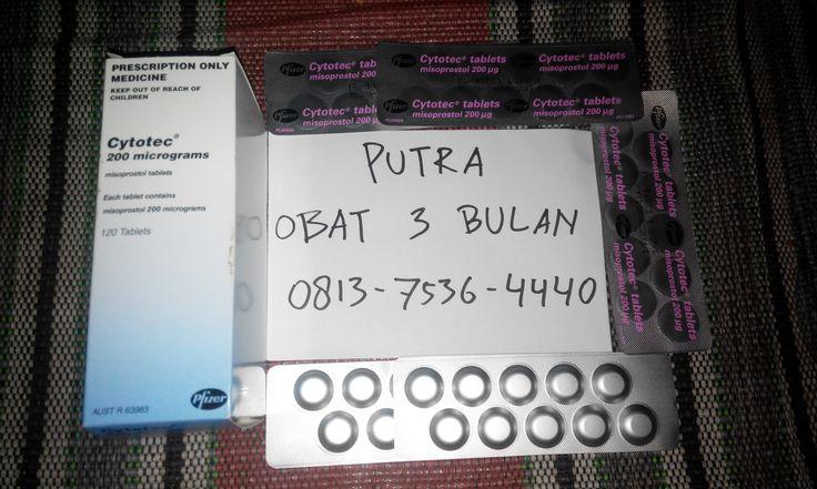 Jual obat aborsi 3 bulan cytotec misoprostol 200mcg asli Pfizer.Solusi aman dan efektif menyelesaikan masalah terlambat datang bulan.Obat aborsi bebas efek samping dan tanpa rasa sakit berlebih.Melayani pengiriman ke seluruh kota di Indonesia. Konsultasi,harga dan pemesanan hubungi : (PUTRA) Hp : 0813-7536-4440 Pin BB : 3246C2C5 http://caraaborsi.net/obat-aborsi-3-bulan/
