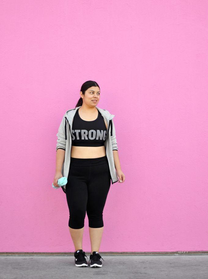 plus size active wear - jay miranda
