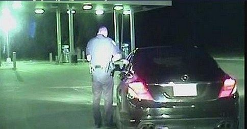 Ex-NFL Player Says Cop Put a Gun to His Face, Police Release Dashcam Video - http://thewtfbible.com/ex-nfl-player-says-cop-put-a-gun-to-his-face-police-release-dashcam-video/