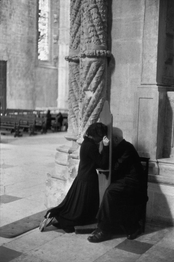 Henri Cartier Bresson- 1955 Title: Jerónimos Monastery, Belém, Lisbon, Portugal