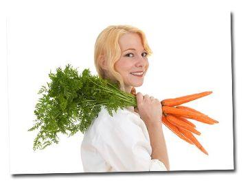 Nevyhadzujte vňať z mrkvy