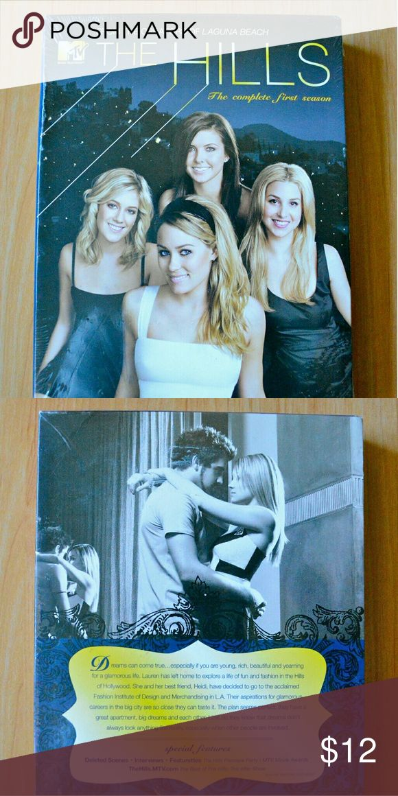 """""""The Hills"""" Season 1 DVD Set, NEW! ***FAST SHIPPING****  New/Sealed, MTV's """"The Hills"""" Season 1 DVD Set MTV Network Bags"""