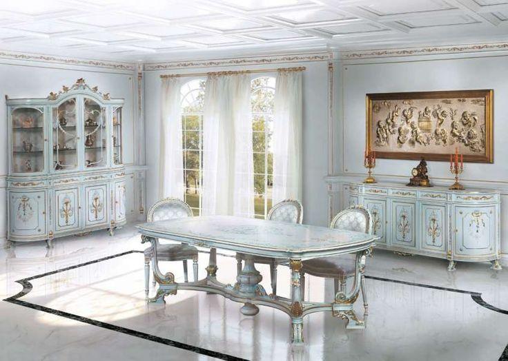 Sala da pranzo stile veneziano - Sala da pranzo di lusso