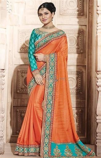 Lovely Orange Art Silk Embroidered Modern Saree With Green Blouse#DesignersAndYou #DesignerSarees #Sarees #Sari #Saris #Saree #DesignerSaris #DesignerSari #DesignerSaree #SareesDesigns #SariDesigns #SariPatterns #DesignerSariPatterns #DesignerSariDesigns #DesignerSareesPatterns #DesignerSareePattern #BeautifulSarees #BeautifulSarisOnline #PrintedSarees #EmbroideredSarees #EmbroideredSaris #EmbroideredSareesOnline #PrintedSareesOnline