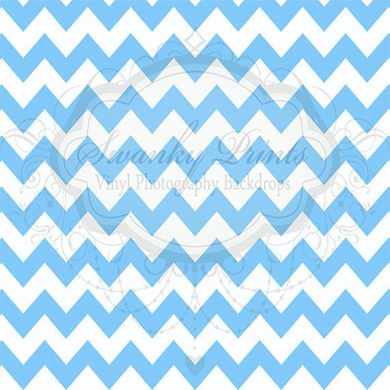 Sky Blue Chevron - Oz Backdrops and Props