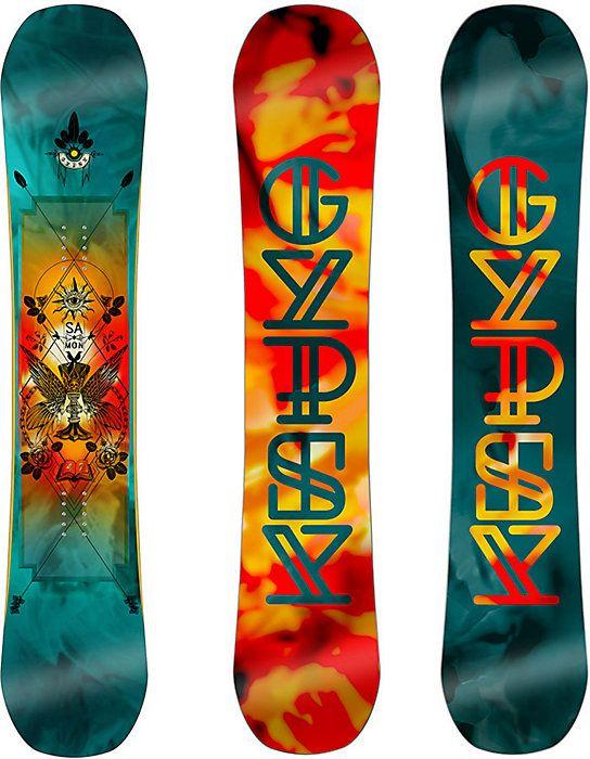 2017 Salomon Gypsy Snowboard - Women's