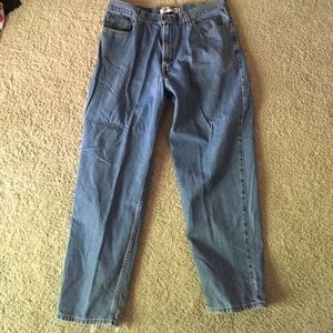 I just added this to my closet on Poshmark: Levi Jeans. Price: $10 Size: Waist 38 X Length 32
