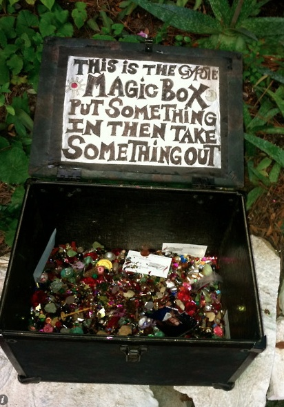 The Gypsy Box...great gifting idea or for sharing stories with family, especially grandchildren.
