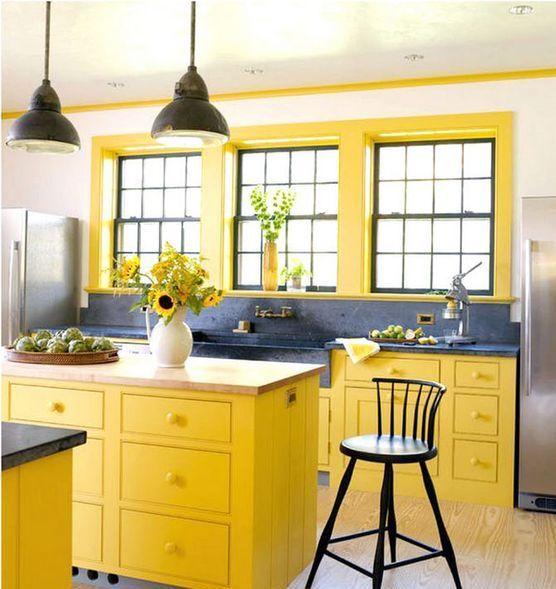 Lemon Kitchen Decor At Target: Best 25+ Yellow Kitchen Decor Ideas On Pinterest